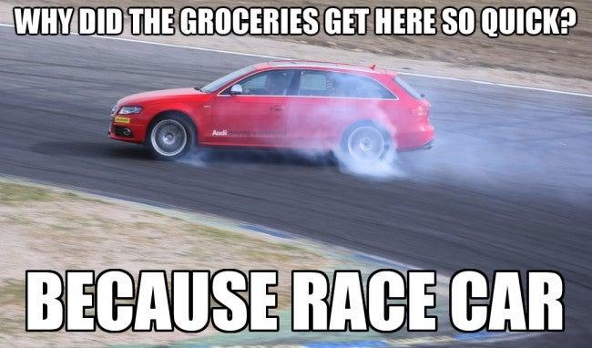 Because racewagon.