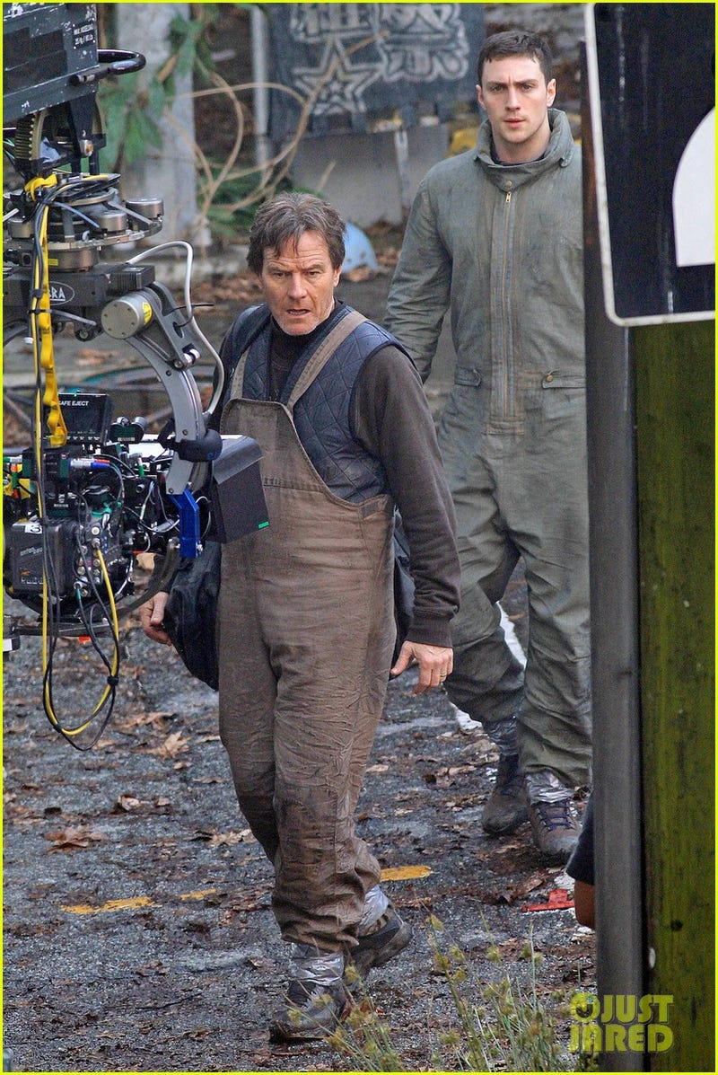 New Photos and Videos from the Godzilla and Transformers 4 Sets!