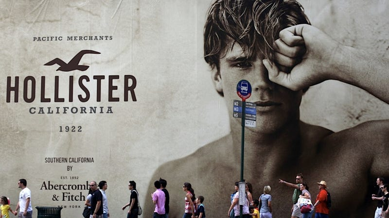 Hollister Models Spread the Good Word About Board Shorts By Flipping-Off South Korean Customers