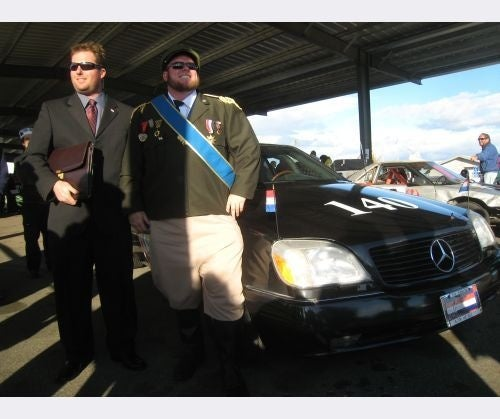 Adventures In Depreciation: 1995 Mercedes-Benz S600 Gets Zero Penalty Laps At The Arse Freeze!