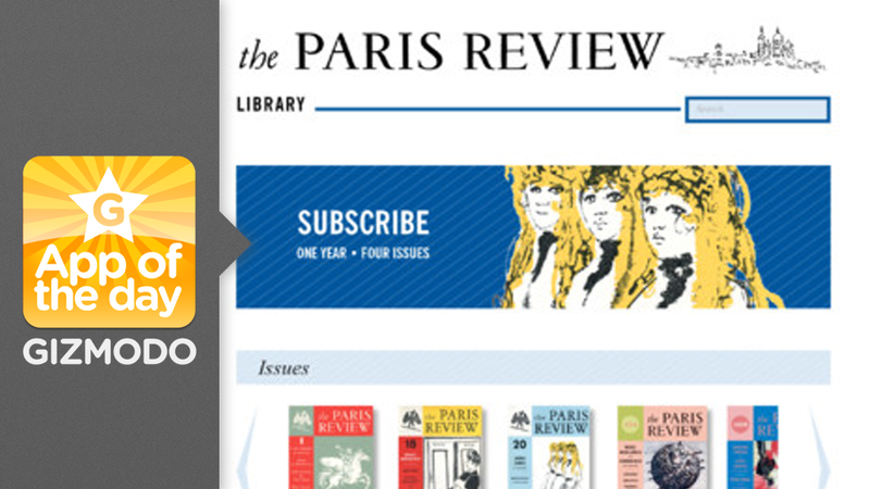 The Paris Review: The Stalwart Lit Mag Goes Digital