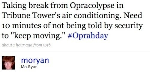 The Twitterati Flees Oprah Goons