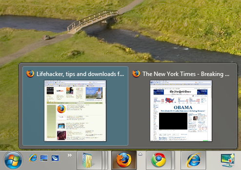A Closer Look at Windows 7's Aero Peek Feature