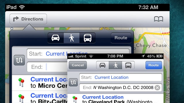 Uncover iOS 6's Hidden Walking Directions