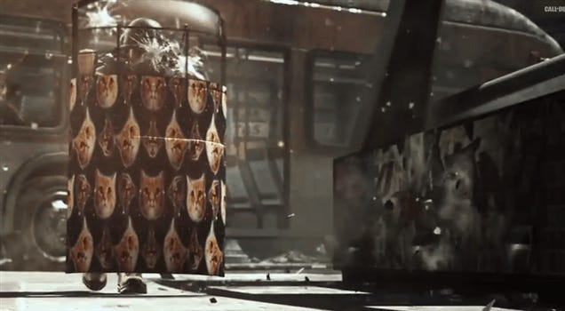 What Call Of Duty: Ghosts Needed Was Space Cats. Now It Has Them.