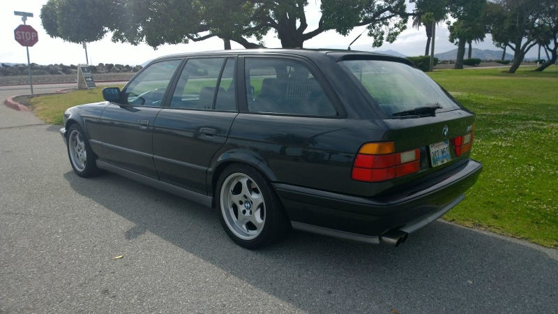 This E34 BMW M5 Wagon Is Too Expensive And It's All Your Fault