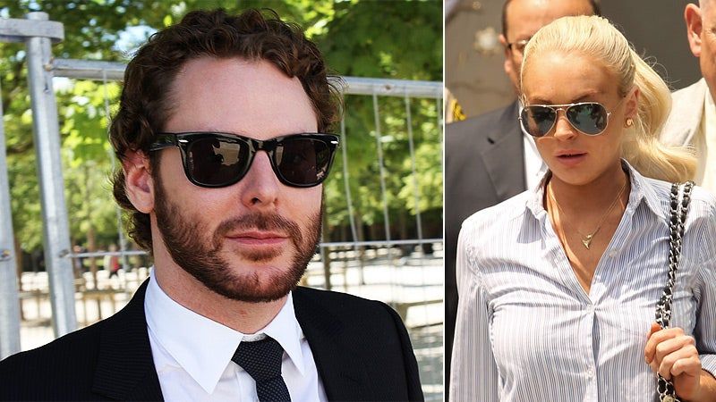 Sean Parker Gets Friendly with Lindsay Lohan