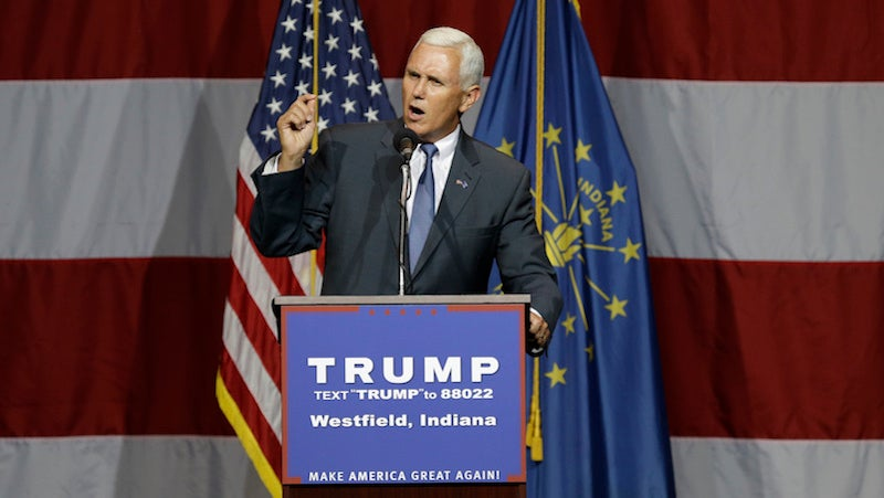 Get to Know Mike Pence and All of the Very Bad Legislation He's Signed