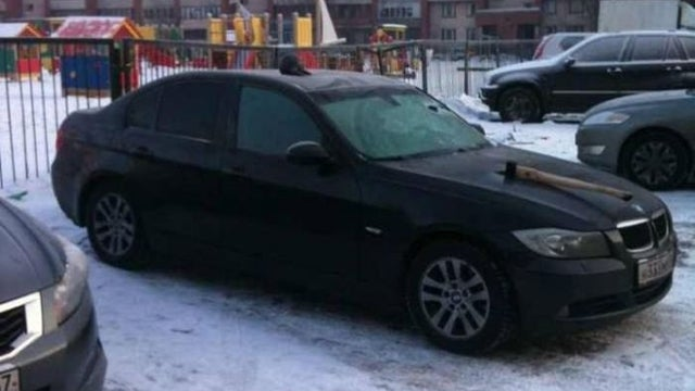 Russian Take On Car Vandalism Is Predictably Bizarre And Hilarious