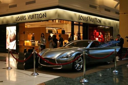Infiniti Essence Visits Louis Vuitton