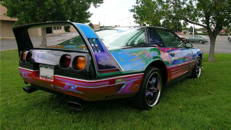 One of the worst custom Camaros we've ever seen crosses the auction block