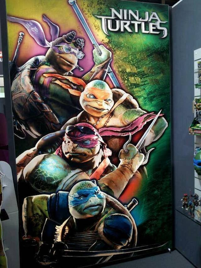An even better look at all four of Michael Bay's new Ninja Turtles