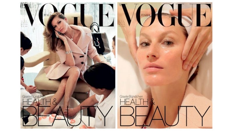 Gisele Gets Her Ass Cupped in the New Vogue Italia