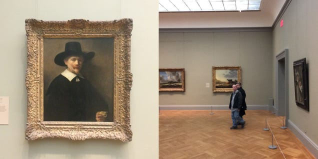 This is what famous works of art have to watch forever and ever