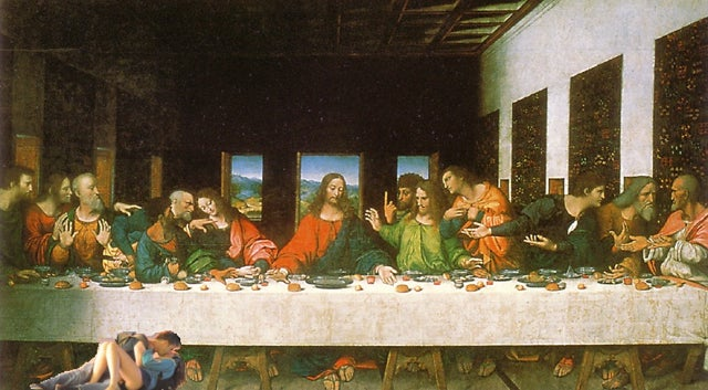 Amorous Rioters Sex Up The Last Supper, Other Seminal Moments In Time
