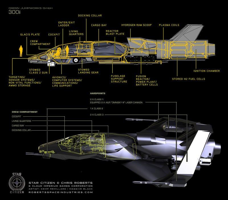 Badass 90's Starfighter Design Lives On With Star Citizen