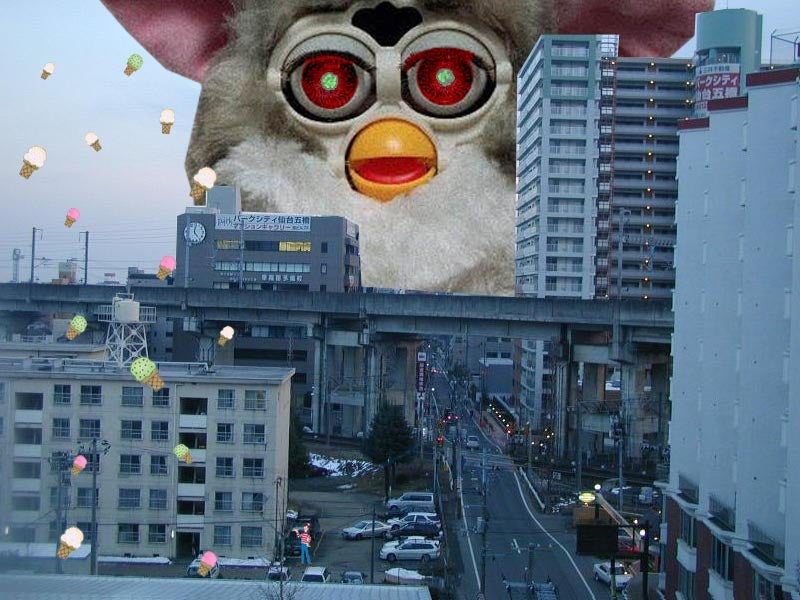 I'm a furby in real life