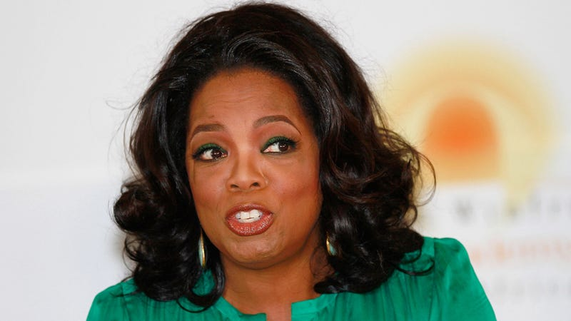 Oprah Needs to Have a Couch Chat with Herself About Her Crazy Family