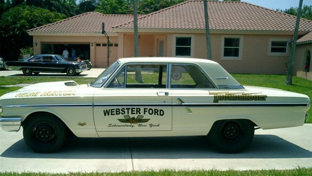 Get struck by the 1964 Ford Fairlane Thunderbolt
