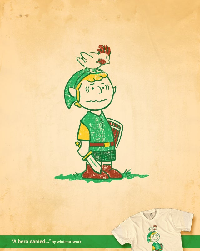 Charlie Brown as the Hero of Hyrule? Good Grief!