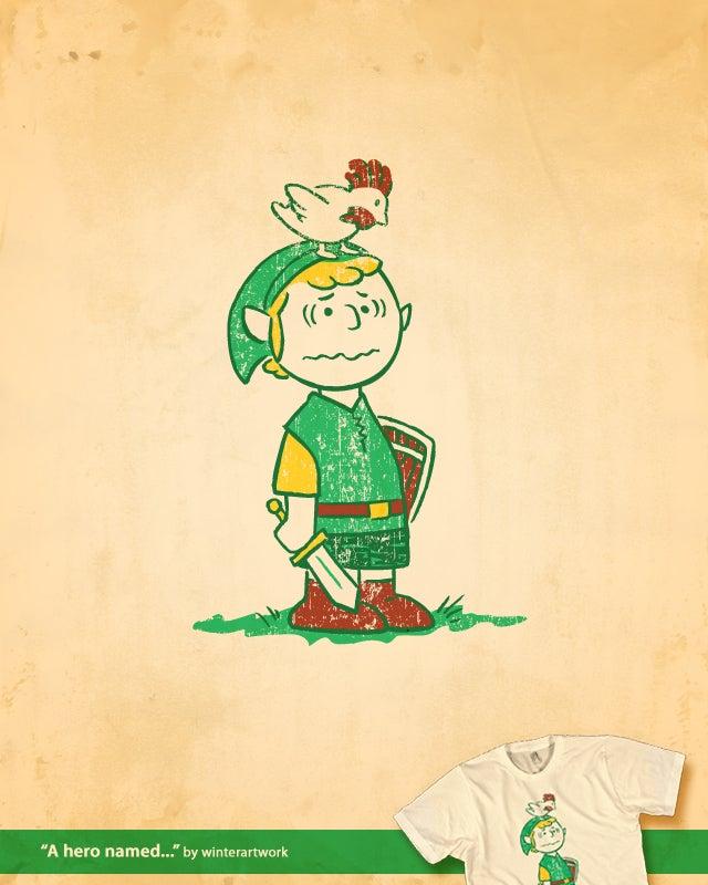 Charlie Brown as the Hero of Hyrule? Good Grief!