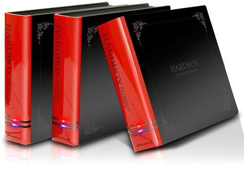 Hardbox External Hard Drive Hides Your Illiteracy With a Book Called Hardbox
