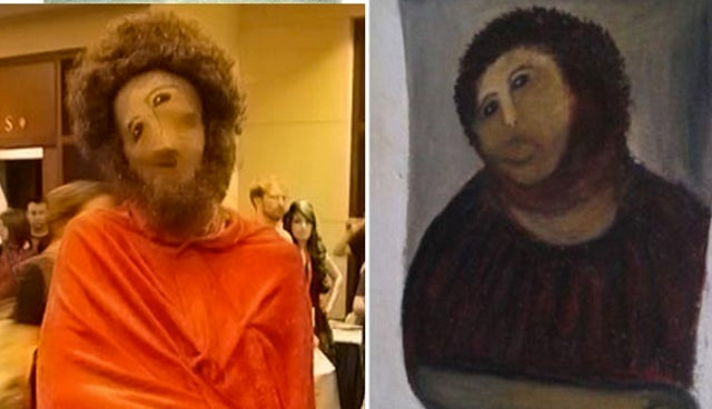 Throw Away Your Halloween Costume: You've Already Lost to Beast Jesus Fresco Guy