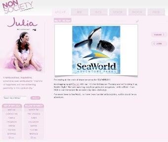 Julia Allison Shills for Sea World (Updated)