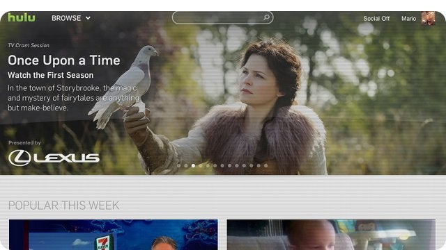 Feast Your Eyes On Hulu's Gorgeous New Design