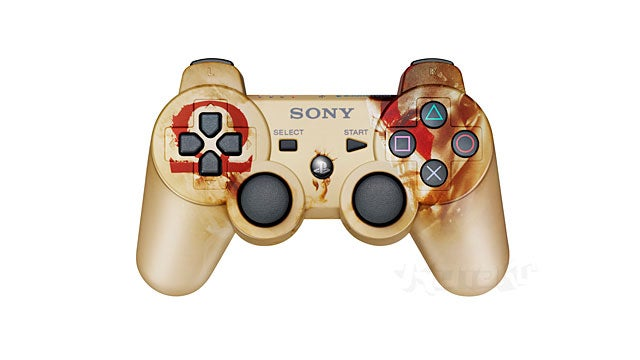 Sony Releasing Custom God of War Control Pad