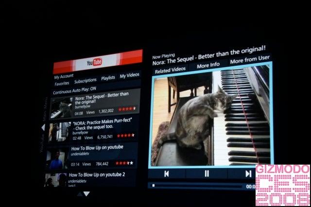 Panasonic Keynote Bits: Wireless HDTVs, YouTube, Wireless Lumix Camera and Comcast Cable Box Inside