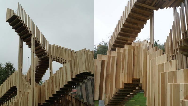 This Endless Staircase Is an M.C. Escher Drawing Come to Life