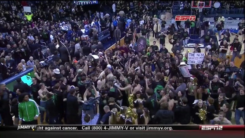 Great, Now Notre Dame Fans Will Think They're Good At Basketball, Too