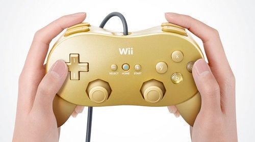 The Wii Gets a Golden Classic Controller for GoldenEye