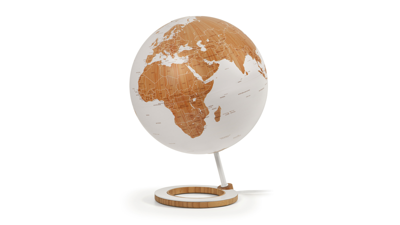 This Bamboo Globe Is As Gorgeous As It Wants The Planet to Be
