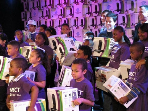Marky Mark And Microsoft Bring Kinect To All The Good Boys & Girls Clubs