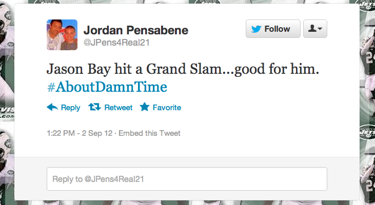 Jason Bay Hit A Grand Slam, So Naturally Twitter Brought Out The Knives