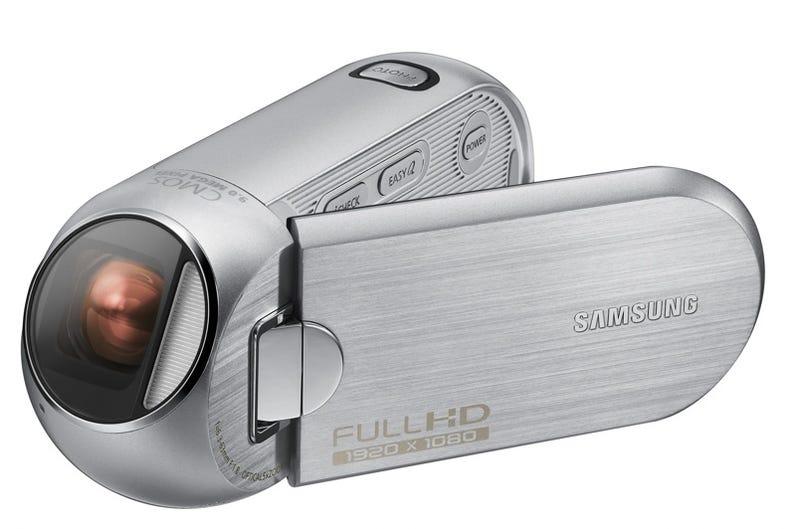 Samsung HMX-R10 Camcorder Has Alien Eye Lens