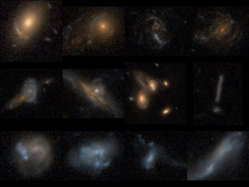 A Gallery of Freakish Galaxies