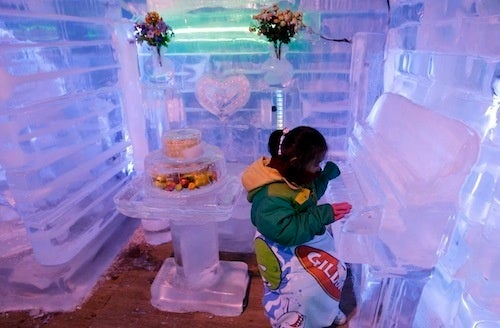 Summer Solutions: Play A Piano Made Of Ice