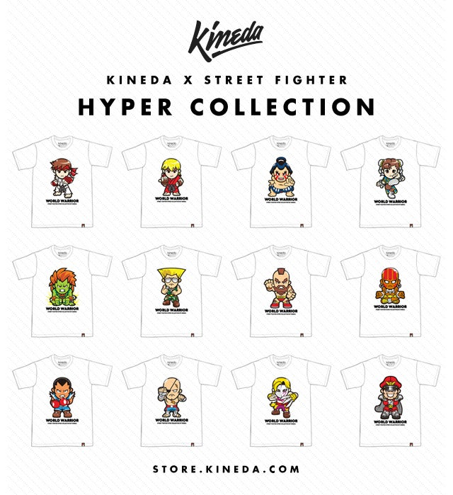 These Street Fighter Shirts Aren't Exactly Intimidating