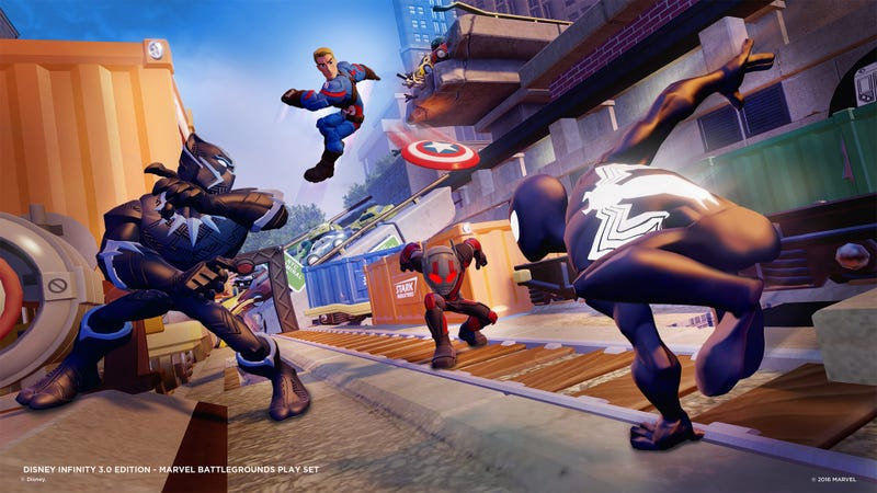 Marvel superheroes and more join 'Disney Infinity' game universe