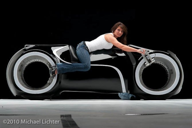 Get Your Own Street-Legal Tron Light Cycle