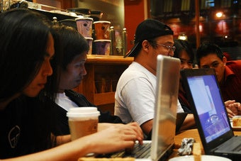 Where Will the Bloggers Go When the Coffee Shops Kick Them Out?