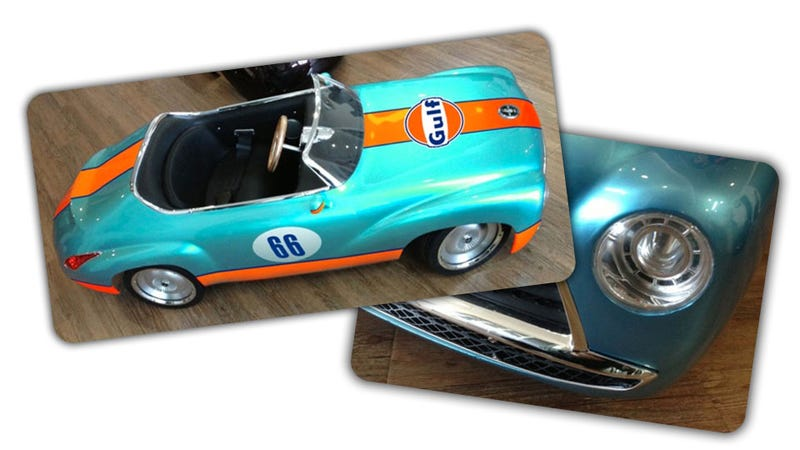 Engineer Dad Builds His Son The Best Toy Car We've Ever Seen