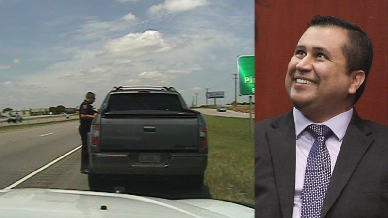 An Armed George Zimmerman Caught Speeding In Texas