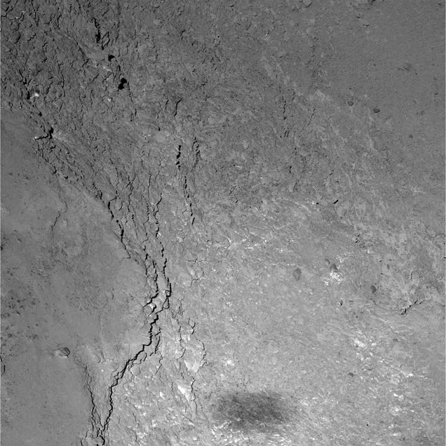 The Ultimate Shadow Selfie: Rosetta's Silhouette On Comet 67P