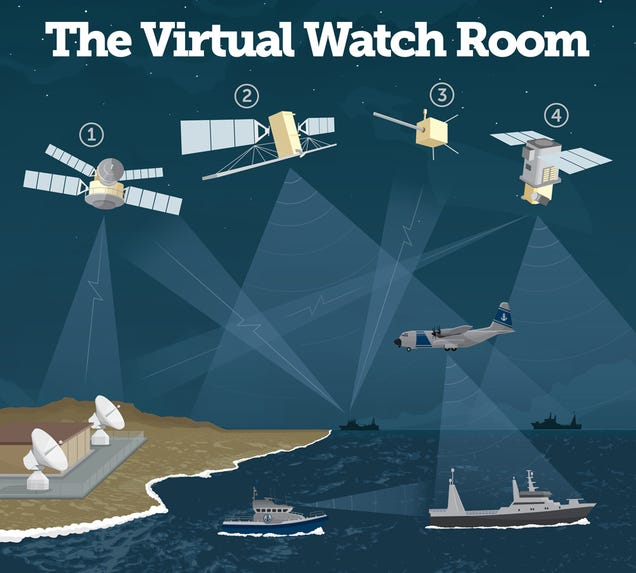 Satellites Are Catching Pirate Fishing Boats From Space