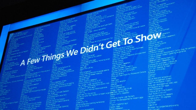 This List Hints at the Other 300+ Features Coming to Windows 8