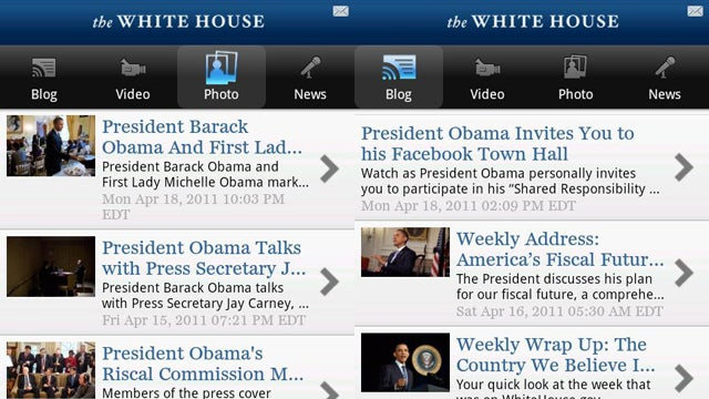 Android Users Have Their Own White House App Now